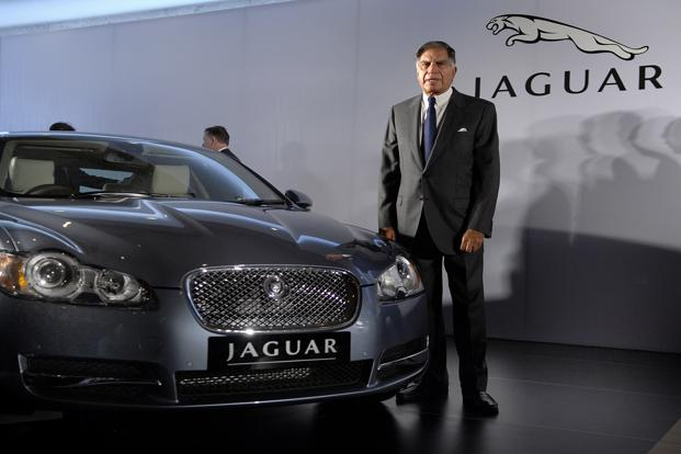 Ratan Tata at JLR Event